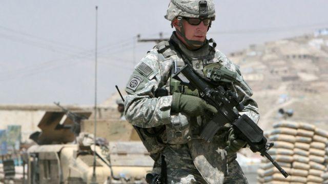 अमरीकी सैनिक