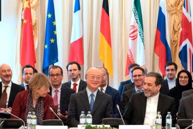 مباحثات حول برنامج ايران النووي في النمسا