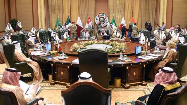 وزراء خارجية دول مجلس التعاون اجتمعوا الاثنين للإعداد للقمة