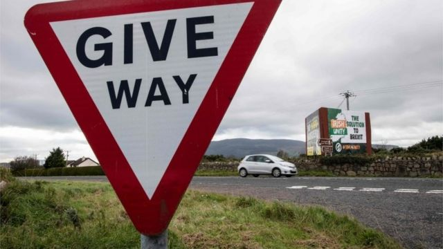 Border between Ireland and Northern Ireland