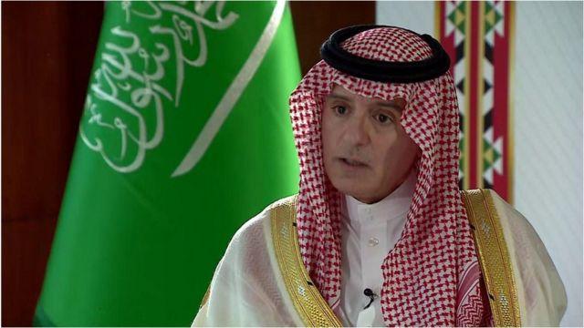 سعودی وزیر خارجہ عادل