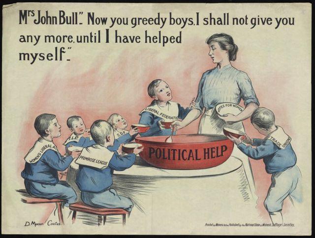 Миссис Джон Балл больше не оказывает политической помощи своим детям