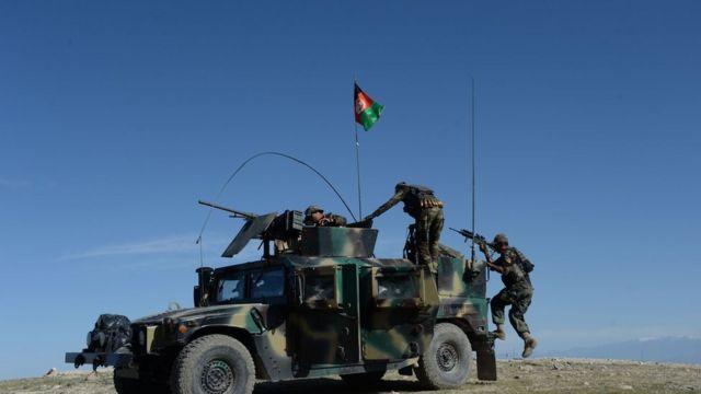 নানগারহার প্রদেশে আফগান বাহিনী