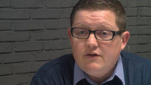 UKIP's Newport branch chairman James Peterson