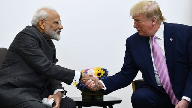 ترامپ به هند سفر کرد