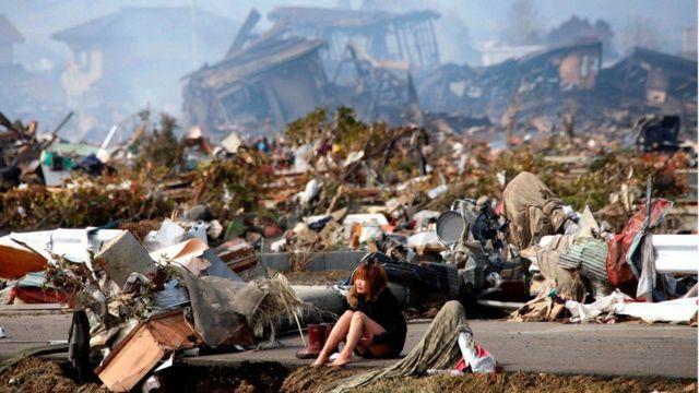 2011年的地震是日本有史以來最強的一次地震。