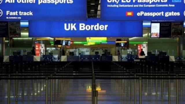 الحدود البريطانية