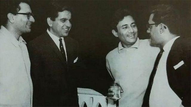 دلیپ کمار، راج کپور اور دیو آنند