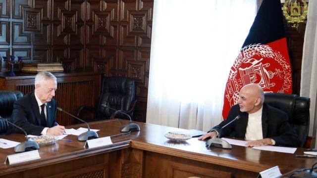سفر وزیر دفاع آمریکا به کابل