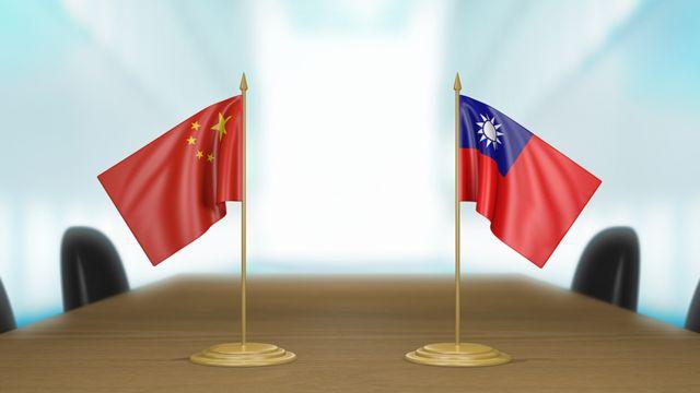 Banderines de China y Taiwán