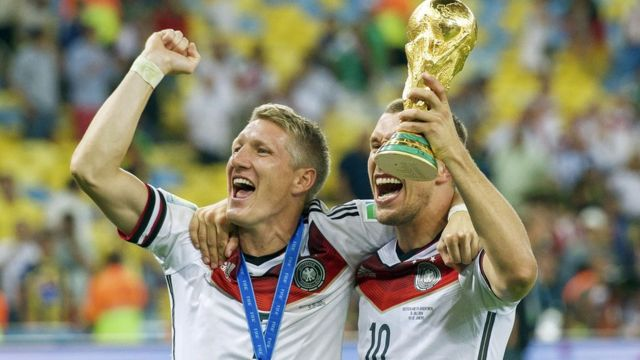 Germany's 2014 Word Cup was the third in a row from an European Nation