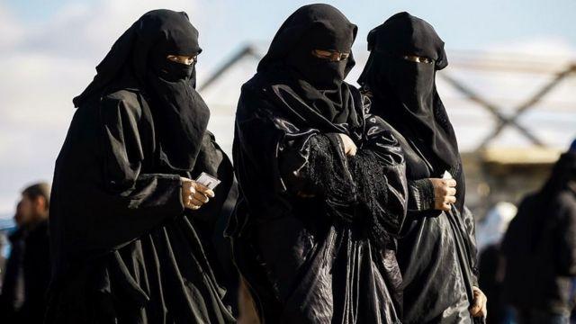 жены боевиков ИГ в лагере аль-Хол