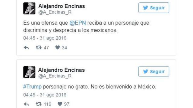 Tuit de Alejandro Encinas