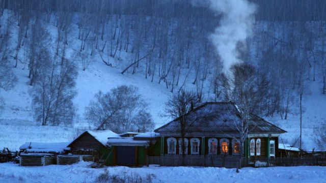 Дом в Омской области