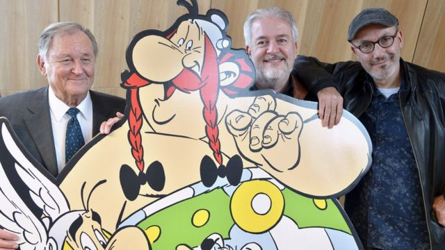 Asterix is back and takes Rome into info age