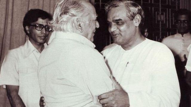 फ़ैज अहमद फ़ैज-वाजपेयी के साथ