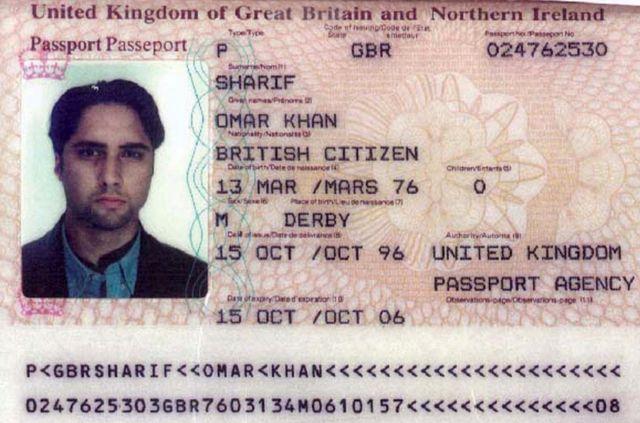 Паспорт Омара Шарифа