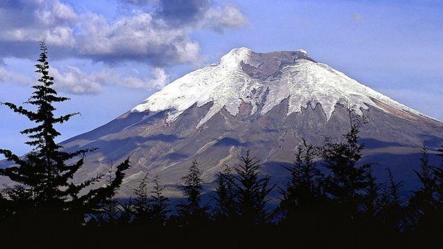 Volcán Cotopaxi.