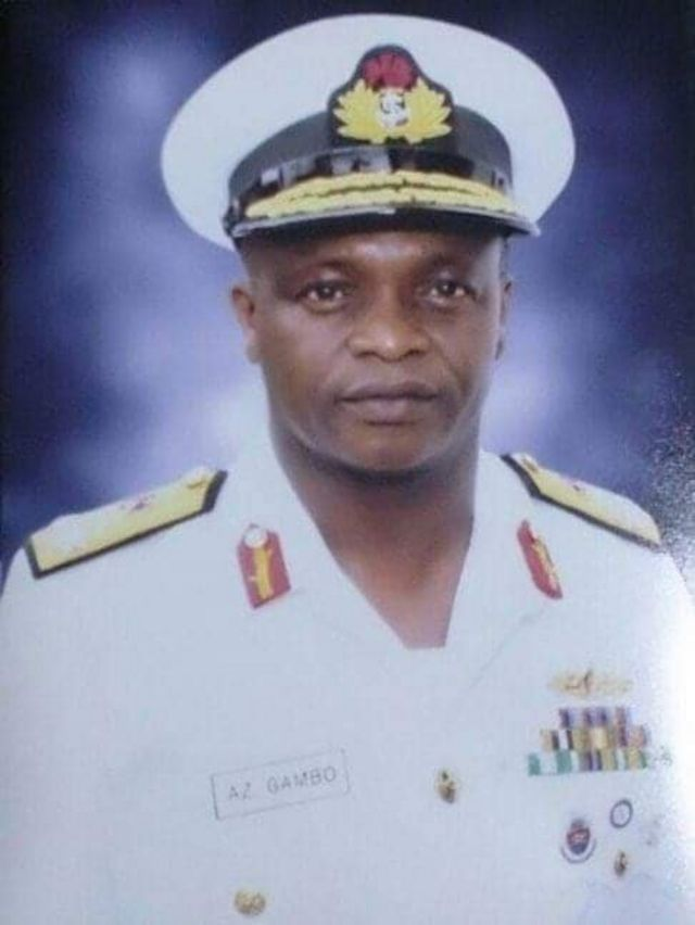 Buhari Service Chiefs: Rear Admiral Awwal Zubairu Gambo