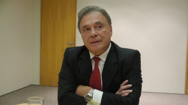 O senador Álvaro Dias, do Podemos