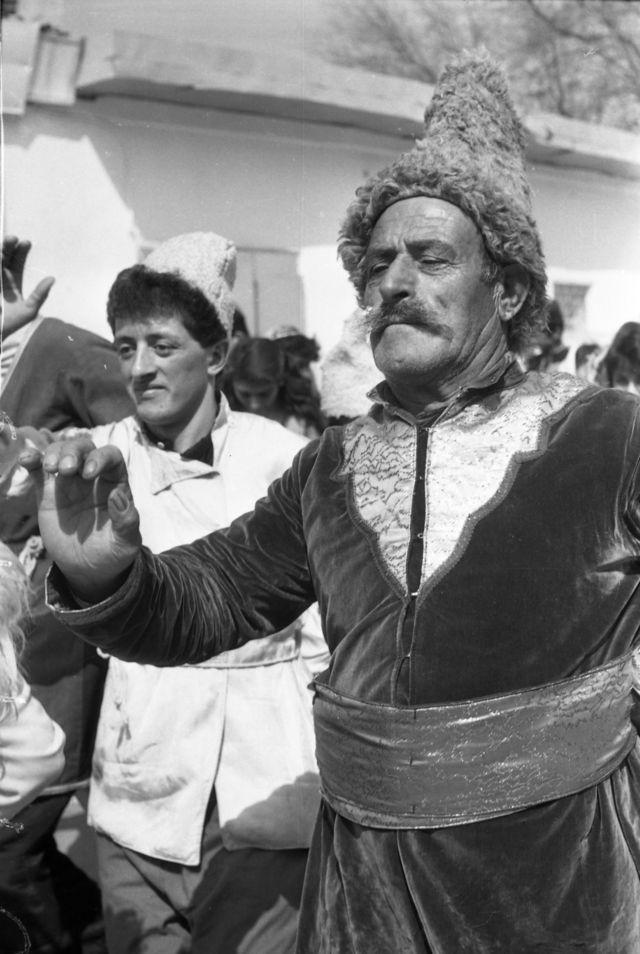 Bakı şəhərində Novruz bayramı şənliyi (20 mart 1989).