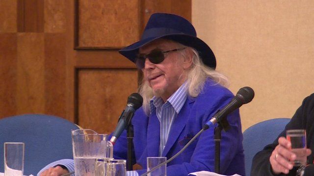 Owen Oyston was heckled throughout the meeting