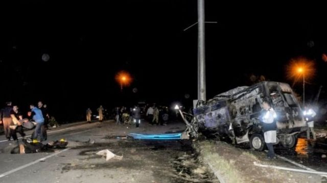 وزارت خارجه افغانستان: بر اساس تحقیقات اولیه دستکم ۱۶ نفر از کشتهشدگان این تصادف شهروندان افغانستان بودند