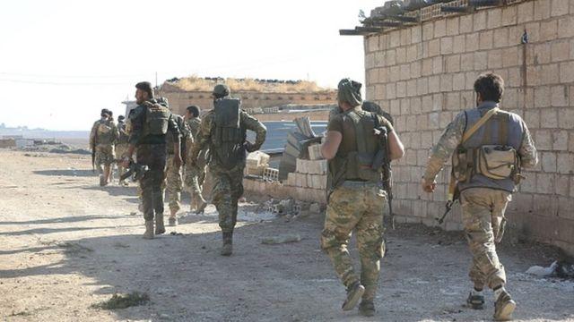 Suriye Ulusal Ordusu Resulayn'da