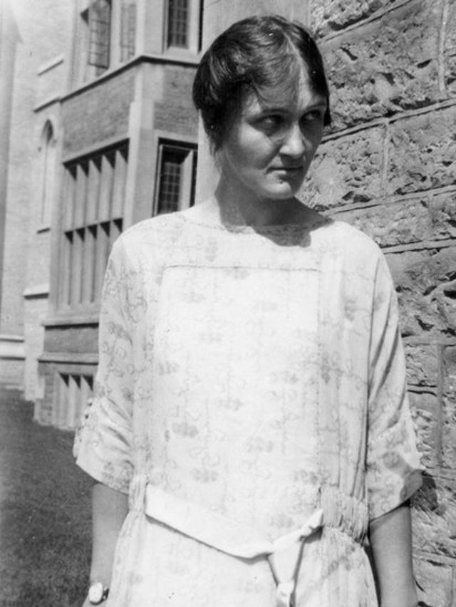 Cecilia Payne-Gaposchkin.