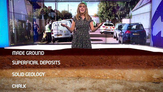Newsround's sinkhole explainer