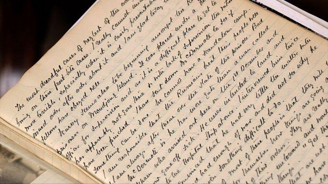 艾恩赛德将军的日记