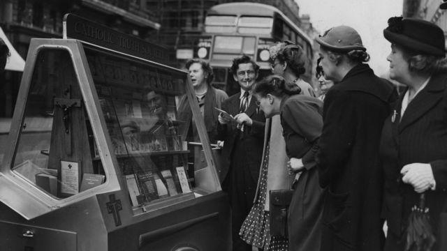 Лондон, 1950 год