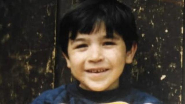 Gabriel cuando era niño