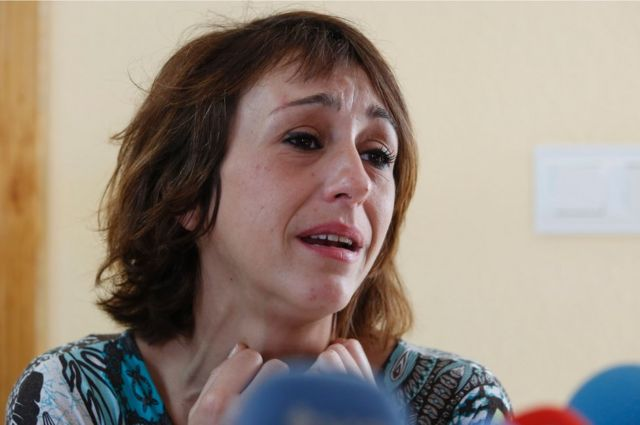 Juana Rivas llora