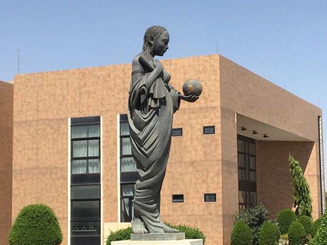 La Statue de Kellou, la fille de Diguel (Tchad)