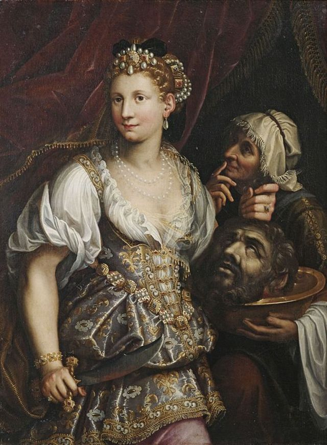 Judith with the Head of Holofernes by Fede Galizia, 1596