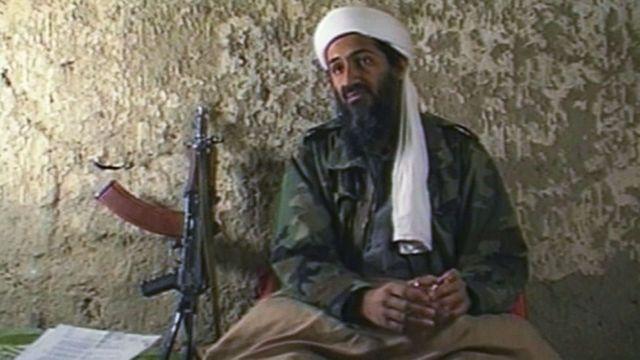 Osama Bin Laden durante una entrevista con CNN en 1998.