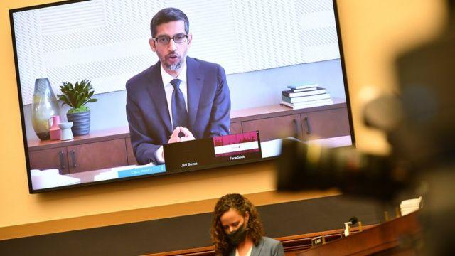 Google boss Sundar Pichai