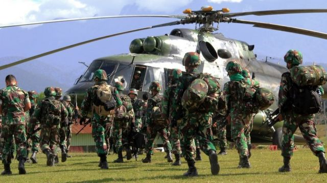 Pengerahan tentara ke Papua