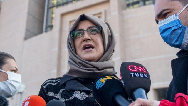 遇刺沙特阿拉伯记者卡舒吉(Jamal Khashoggi)未婚妻简吉兹(Hatice Cengiz)是怀疑遭监控目标之一。(photo:BBC)