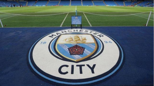 Un logo del Manchester City