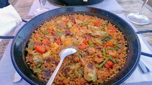 蔬菜海鲜饭