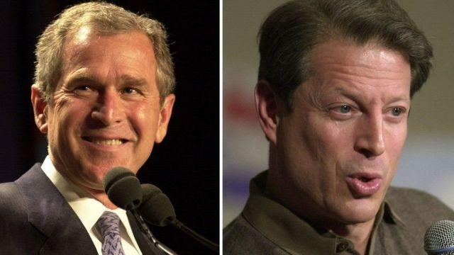 Bush na Al Gore