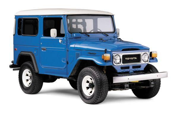 سری ۴۰ تویوتا لندکروزر از مدلهای محبوب علاقهمندان به ماشینهای کلاسیک است