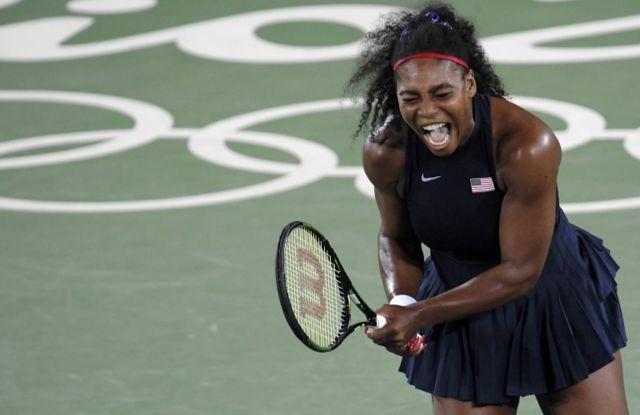 Serena Williams cayó en tercera ronda en Río de Janeiro.