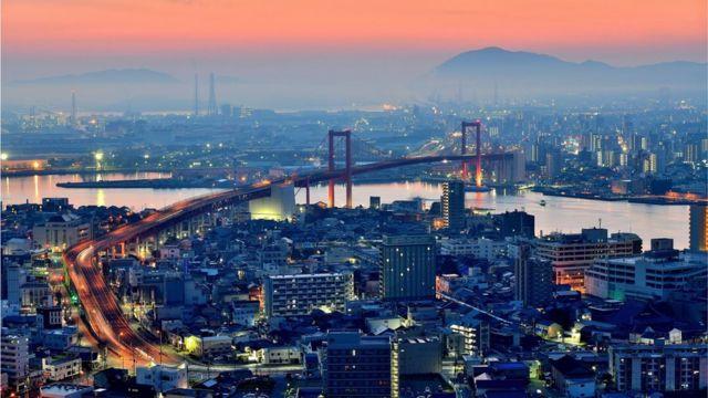 Kitakyushu skyline
