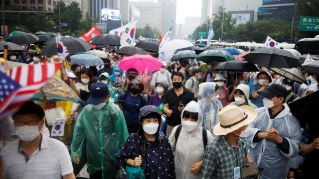 Covid 19 Korea Selatan Alami Lonjakan Kasus Tertinggi Kembali Hadapi Klaster Dari Sekte Agama Bbc News Indonesia