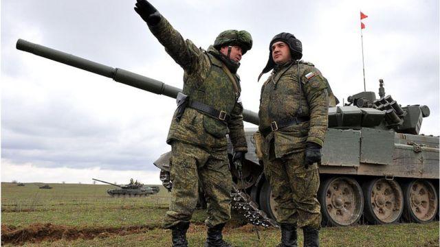 Міноборони Росії неодноразово повідомляло про посилення військ на західних кордонах