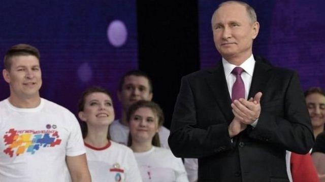 Putin, Seçkilər, Qərb