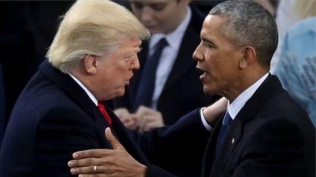 ټرمپ اوباما